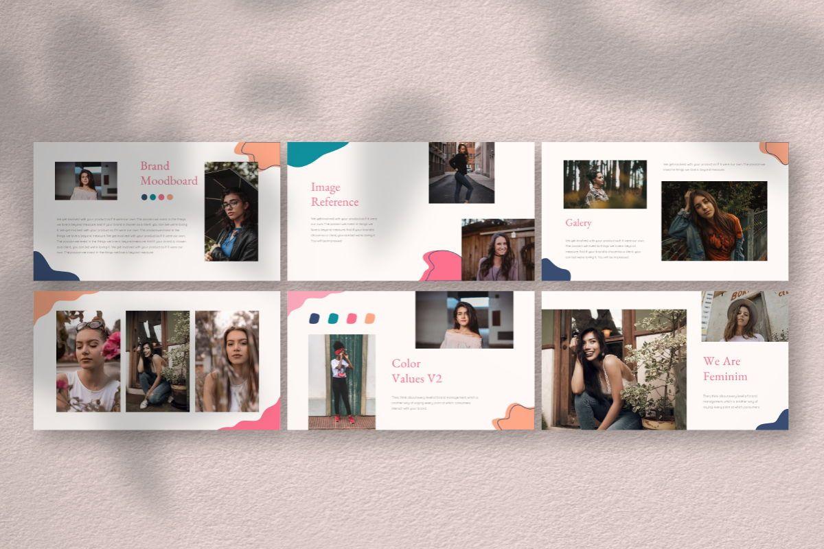 Feminim Brand Keynote Template, Slide 7, 06766, Business Models — PoweredTemplate.com