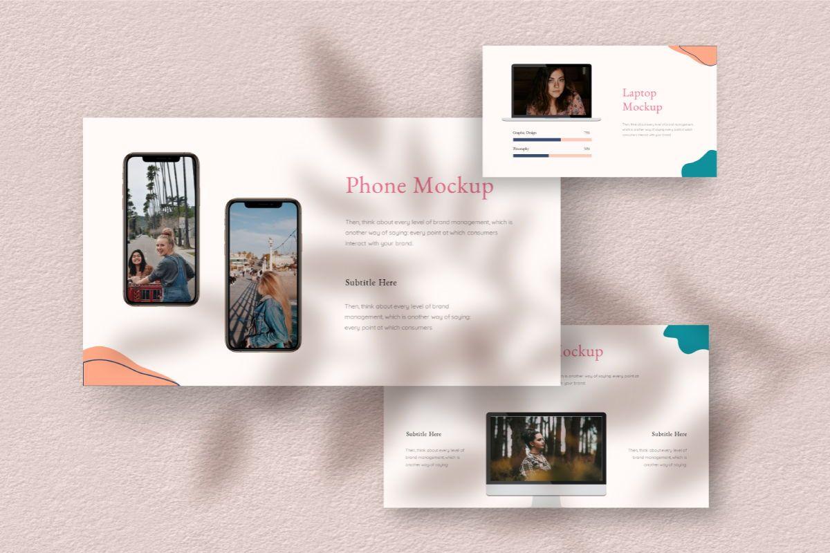 Feminim Brand Keynote Template, Slide 8, 06766, Business Models — PoweredTemplate.com