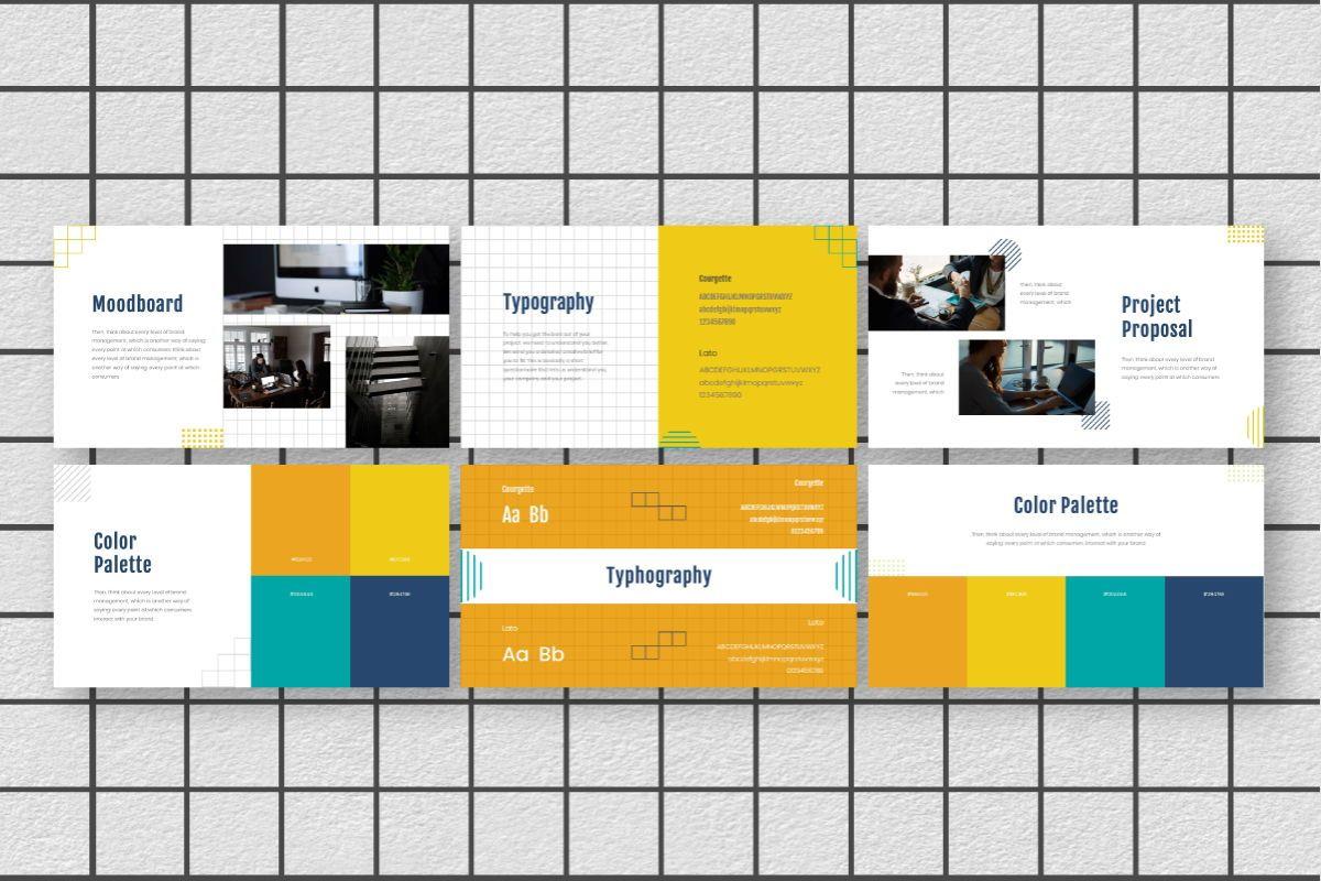 Yellue Brand Powerpoint Template, Slide 6, 06767, Business Models — PoweredTemplate.com