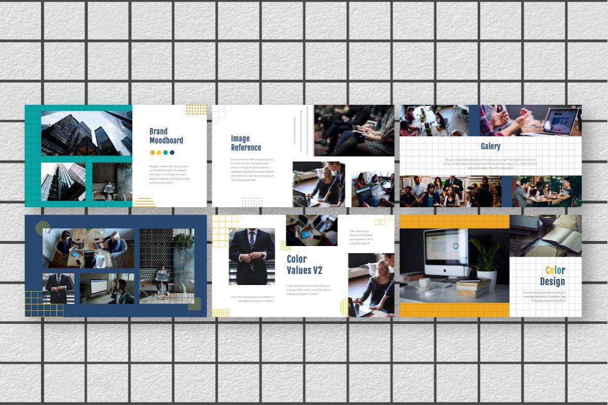 Yellue Brand Powerpoint Template, Slide 7, 06767, Business Models — PoweredTemplate.com