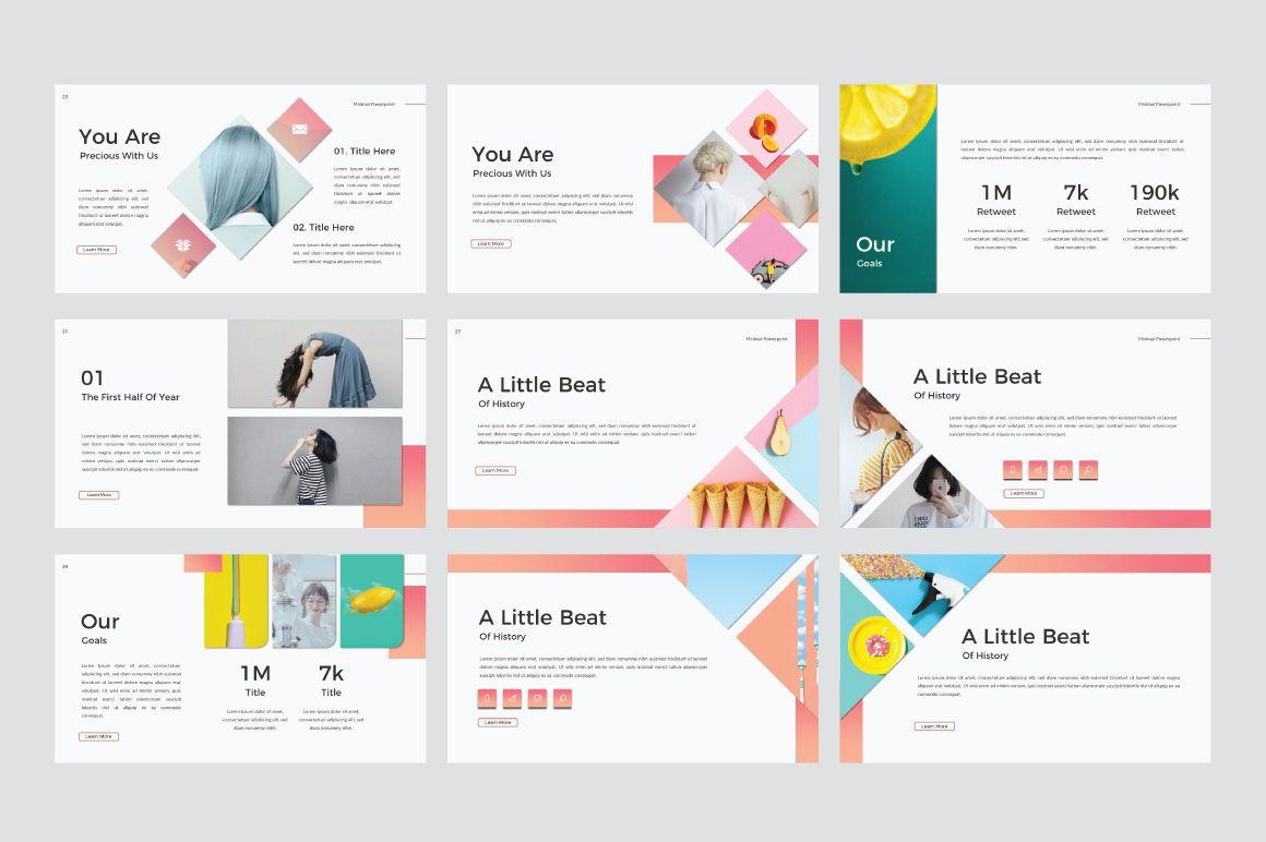 Minimal Creative Powerpoint, Slide 5, 06770, Presentation Templates — PoweredTemplate.com