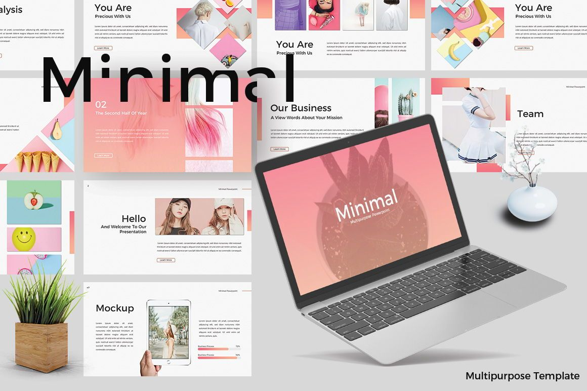 Minimal Creative Keynote, 06771, Presentation Templates — PoweredTemplate.com