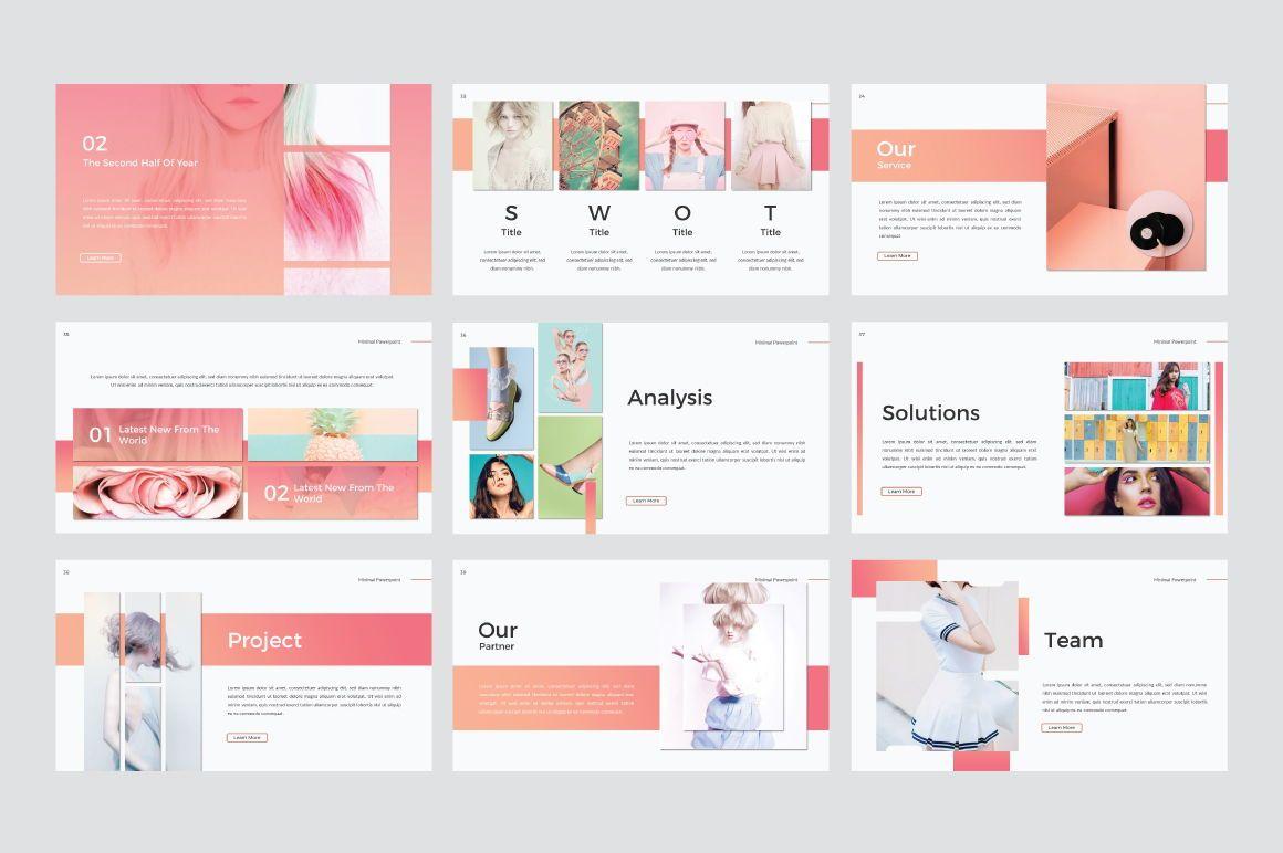 Minimal Creative Keynote, Slide 6, 06771, Presentation Templates — PoweredTemplate.com