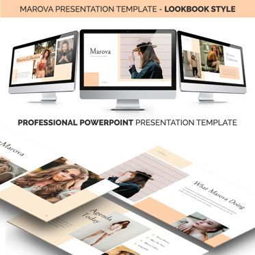 Business Models: Marova Powerpoint Presentation Template #06774