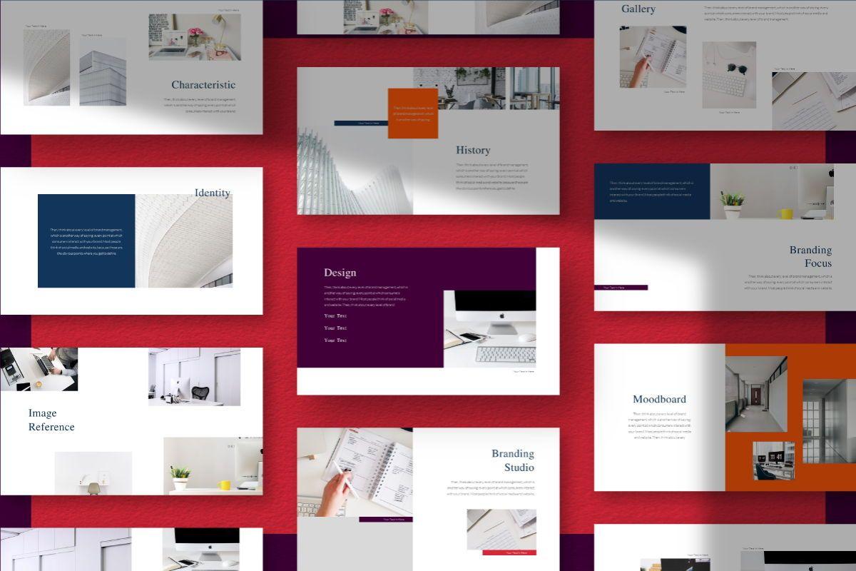 Createvedsgn Google Slides Template, Slide 2, 06782, Business Models — PoweredTemplate.com