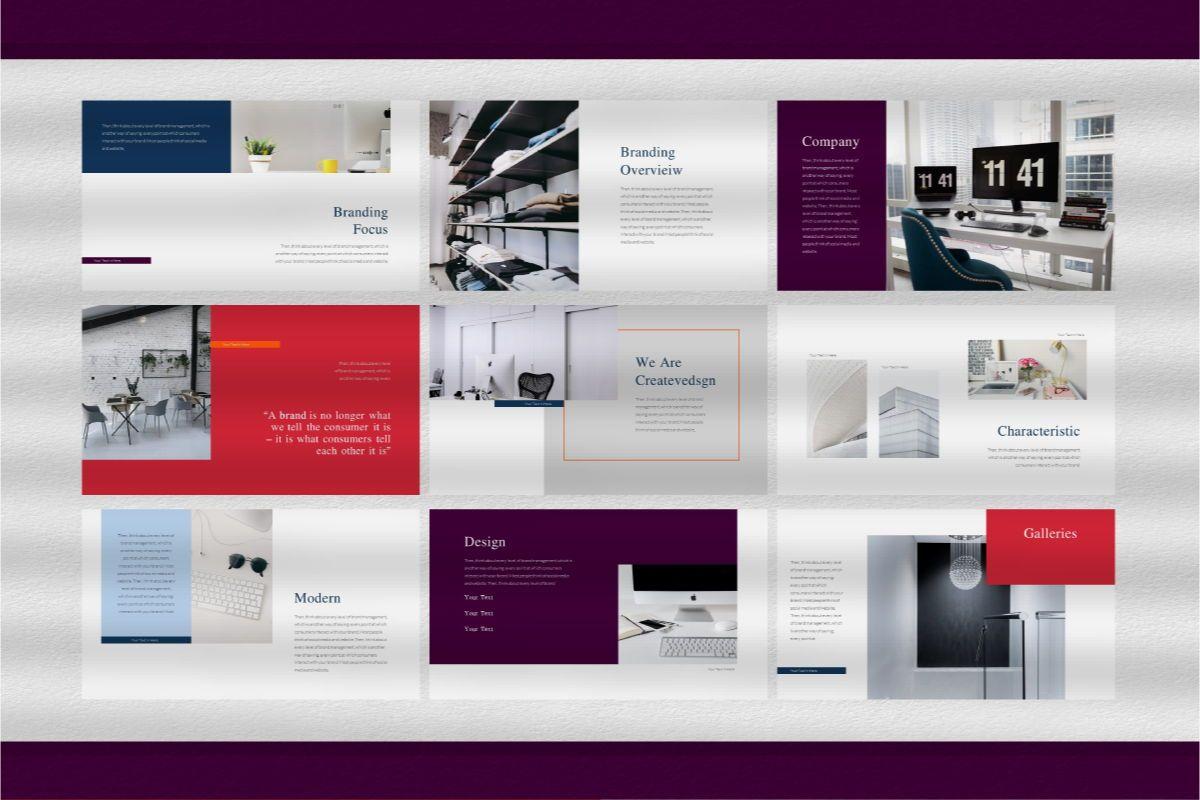 Createvedsgn Google Slides Template, Slide 4, 06782, Business Models — PoweredTemplate.com