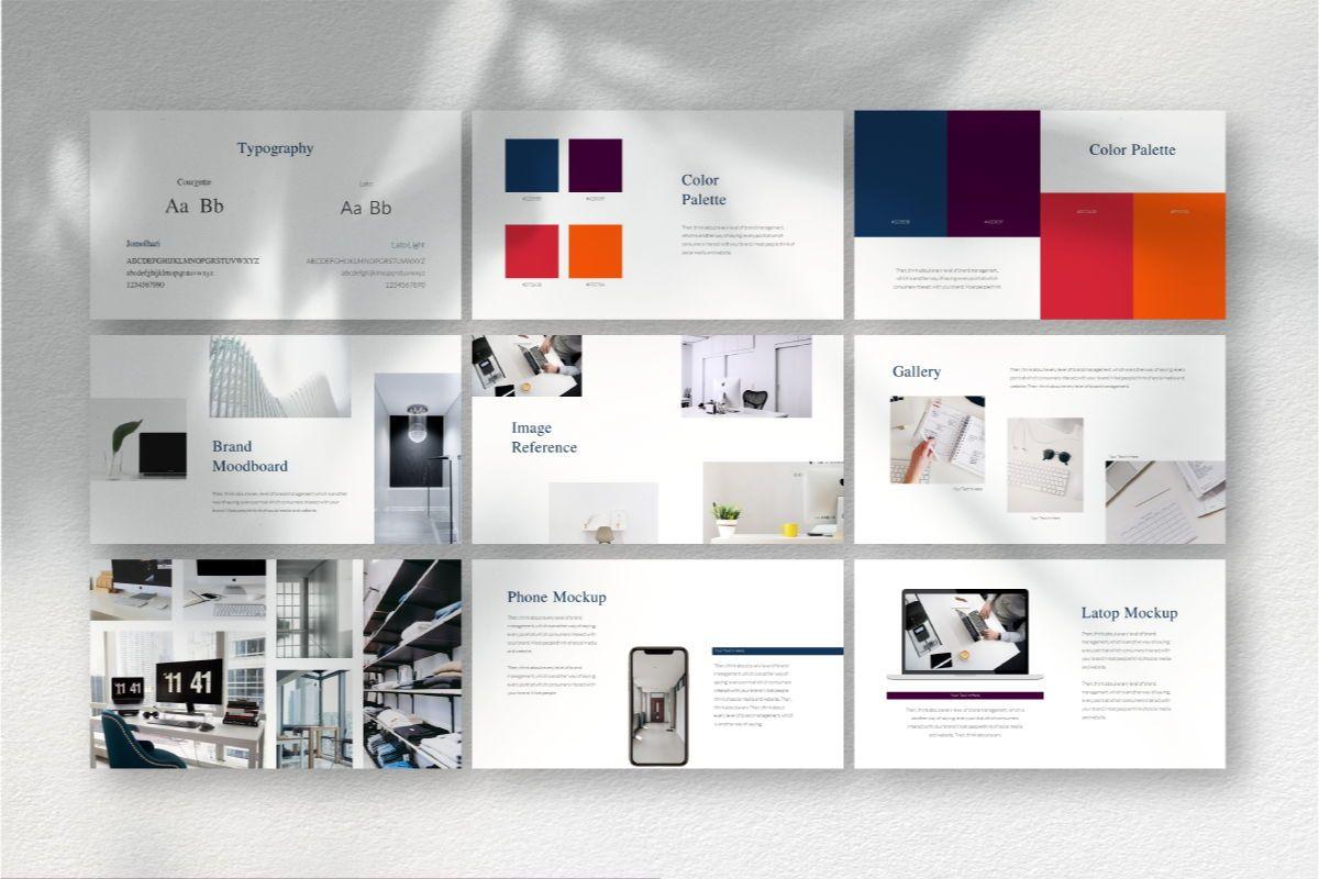 Createvedsgn Google Slides Template, Slide 6, 06782, Business Models — PoweredTemplate.com
