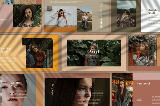 Business Models: Avryl Google Slides Template #06785
