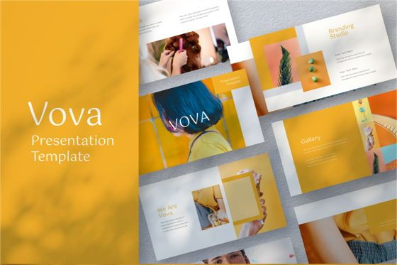 Business Models: Vova Keynote Template #06789