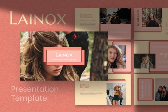 Business Models: Lainox Powerpoint Template #06799