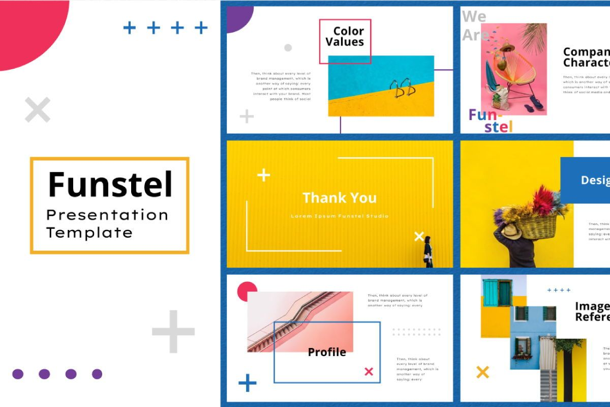 Funstel Powerpoint Template, Slide 10, 06805, Business Models — PoweredTemplate.com