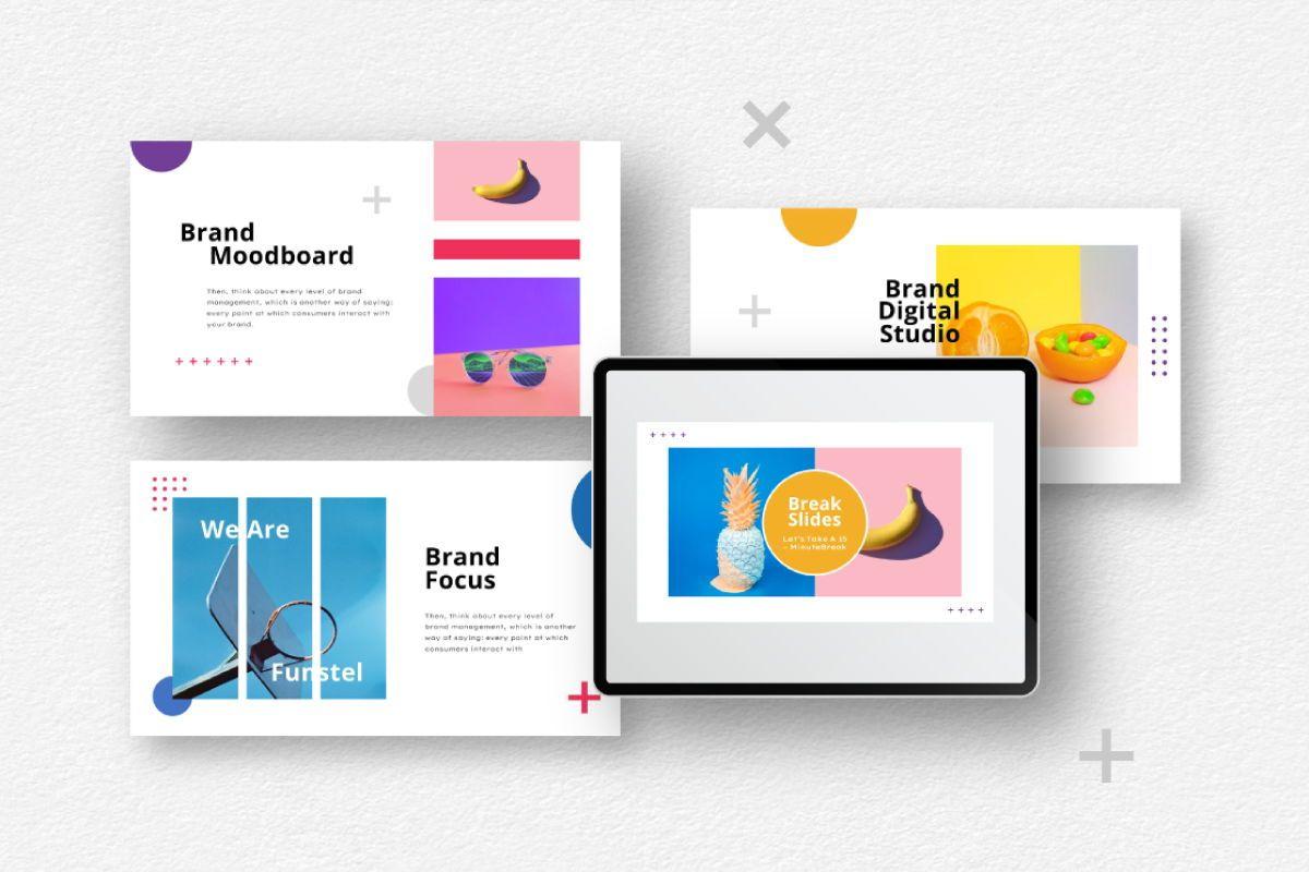 Funstel Google Slides Template, Slide 2, 06806, Business Models — PoweredTemplate.com