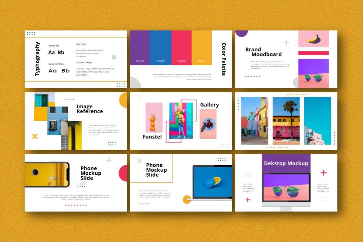 Funstel Google Slides Template, Slide 6, 06806, Business Models — PoweredTemplate.com