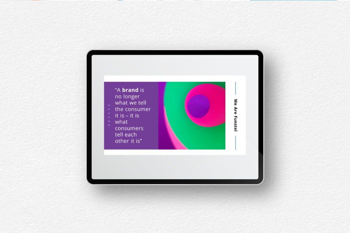 Funstel Google Slides Template, Slide 9, 06806, Business Models — PoweredTemplate.com