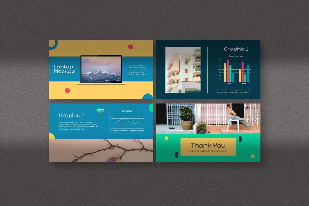 Color Fun Google Slides Template, Slide 7, 06810, Business Models — PoweredTemplate.com