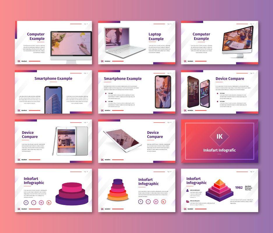 Inkofart - Multi Purpose Google Slides Template, Slide 8, 06811, Business Models — PoweredTemplate.com