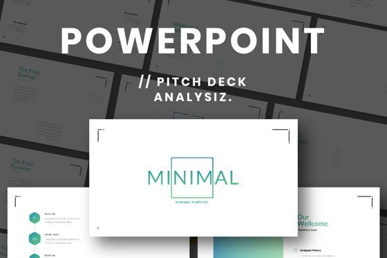 Presentation Templates: Minimal Business Powerpoint #06813
