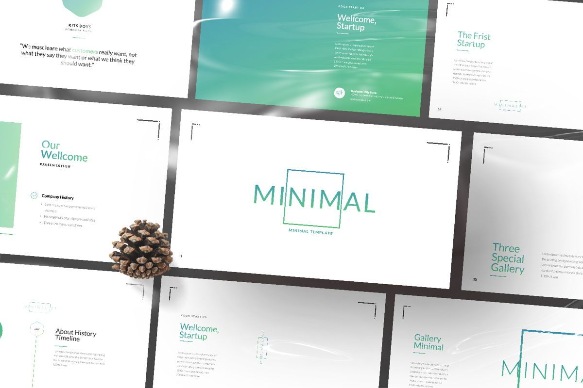 Minimal Business Powerpoint, Slide 12, 06813, Presentation Templates — PoweredTemplate.com