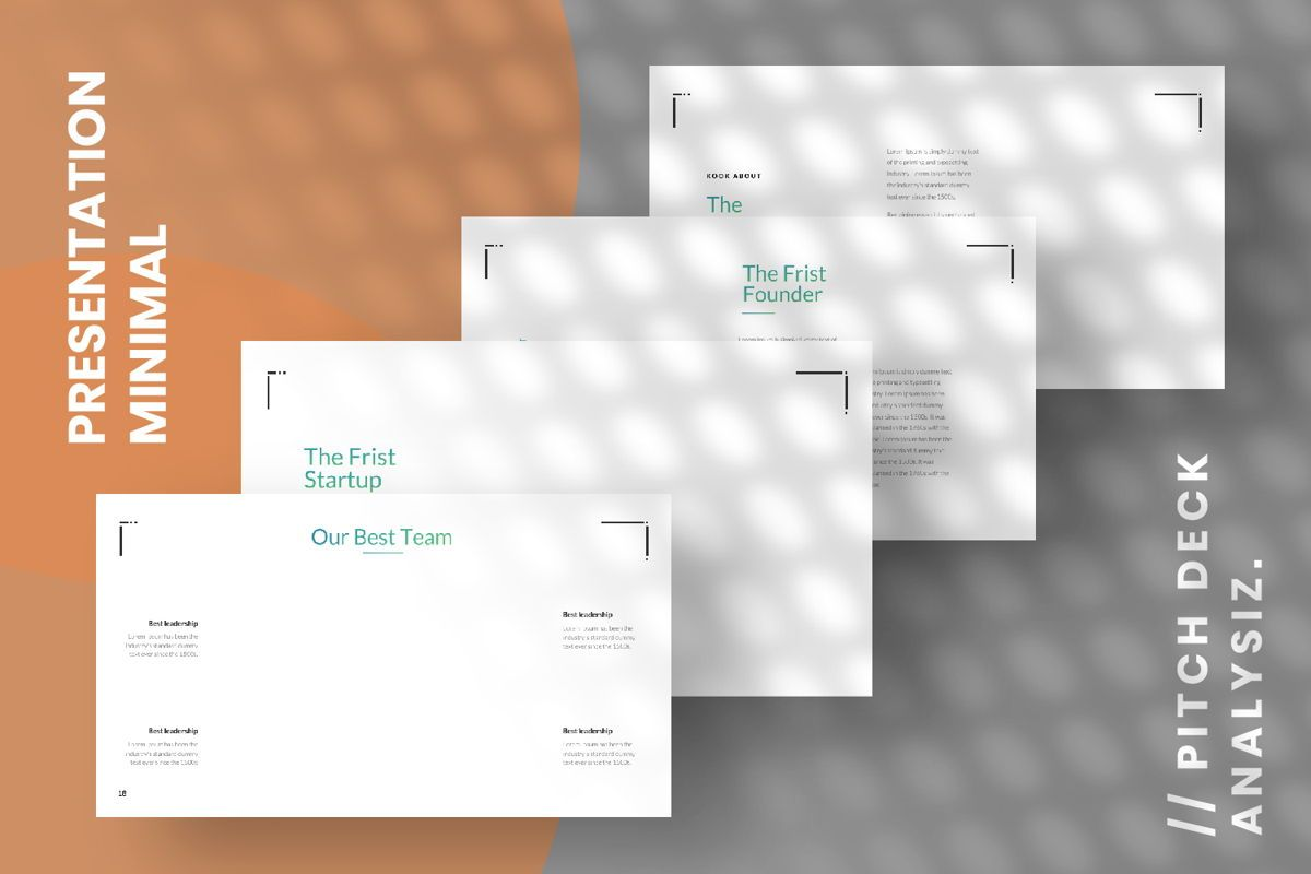 Minimal Business Powerpoint, Slide 14, 06813, Presentation Templates — PoweredTemplate.com