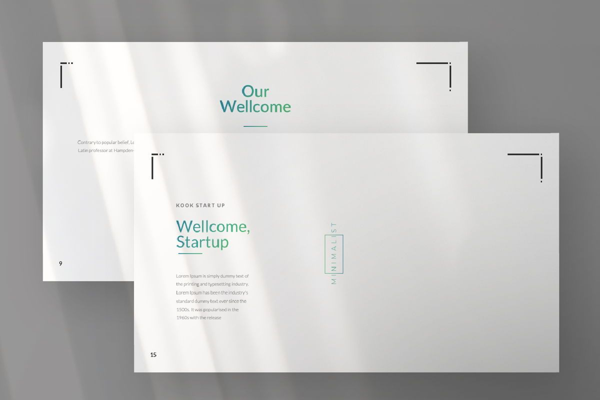 Minimal Business Powerpoint, Slide 5, 06813, Presentation Templates — PoweredTemplate.com