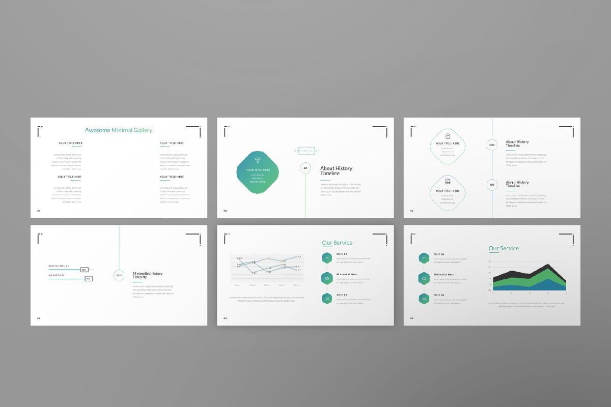Minimal Business Powerpoint, Slide 7, 06813, Presentation Templates — PoweredTemplate.com