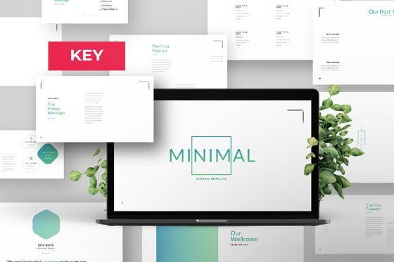 Presentation Templates: Minimal Business Keynote #06814
