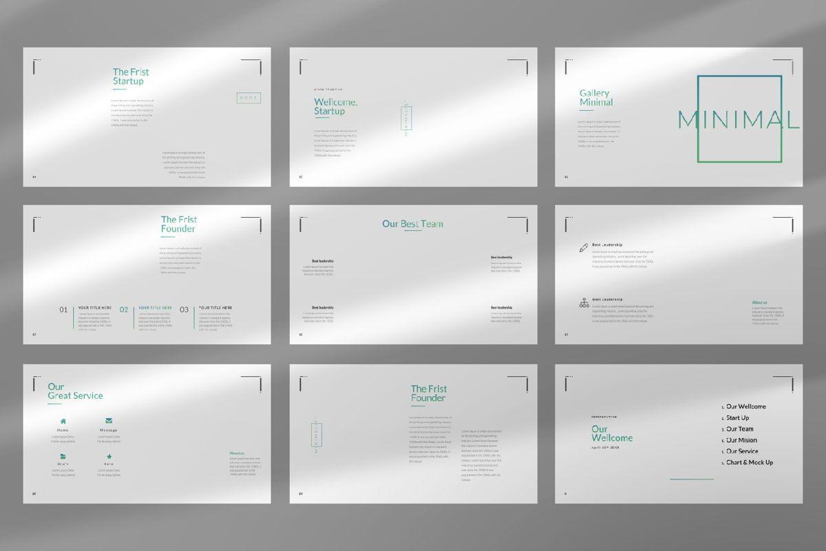 Minimal Business Google Slide, Slide 3, 06815, Presentation Templates — PoweredTemplate.com