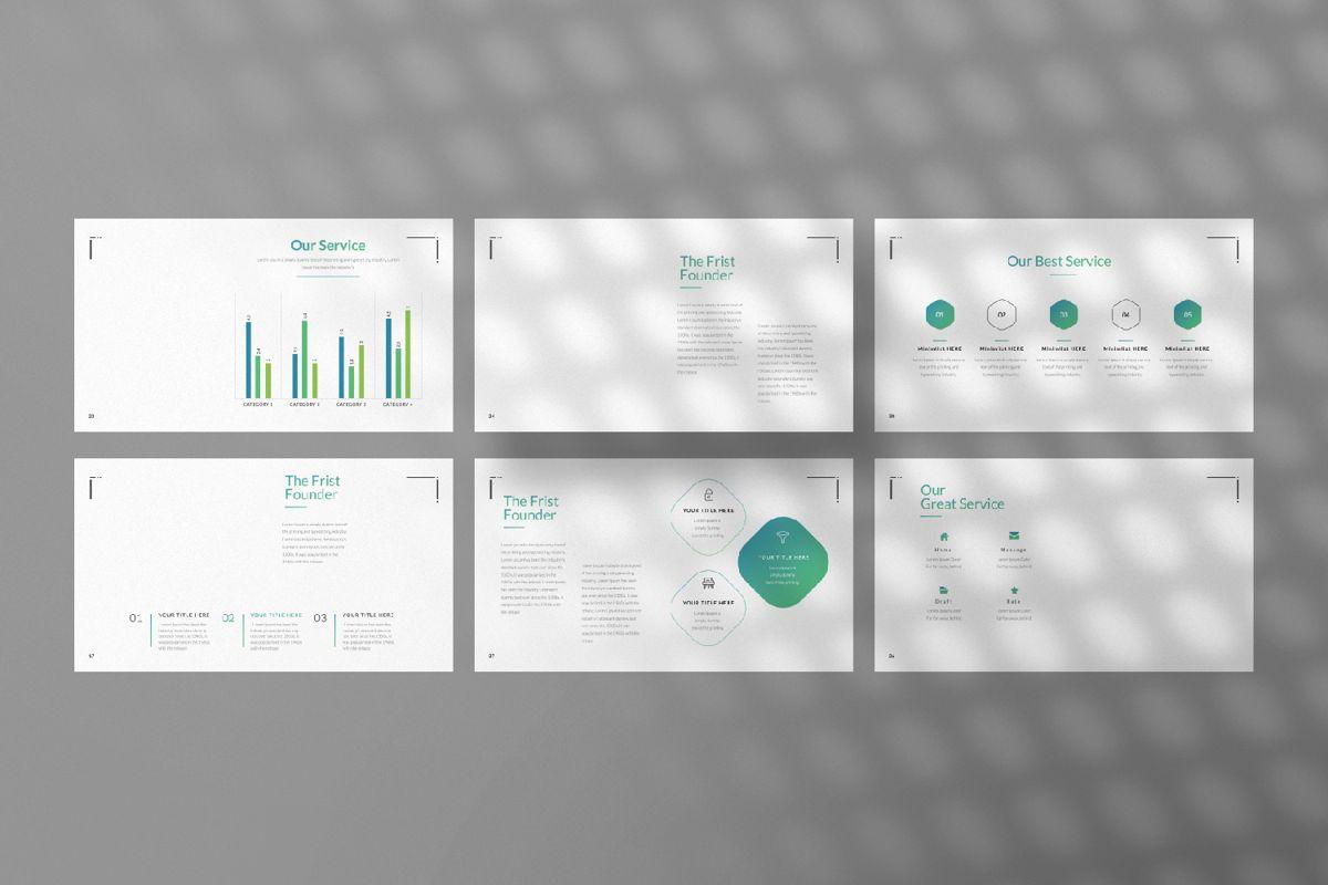 Minimal Business Google Slide, Slide 4, 06815, Presentation Templates — PoweredTemplate.com