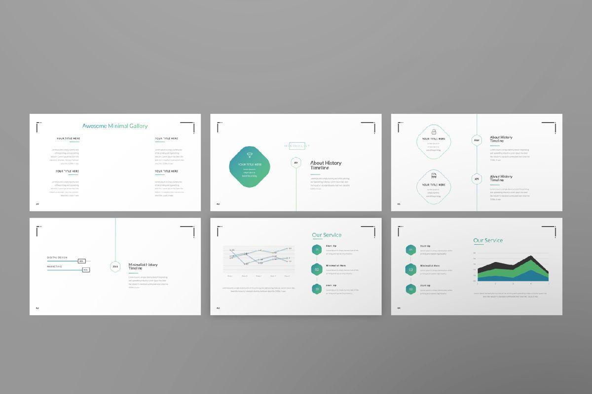 Minimal Business Google Slide, Slide 7, 06815, Presentation Templates — PoweredTemplate.com