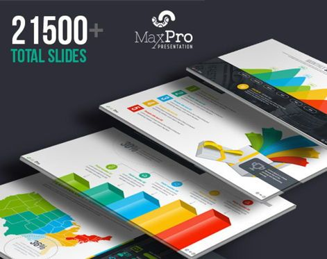 Business Models: MaxPro Business Plan Keynote Template #06817