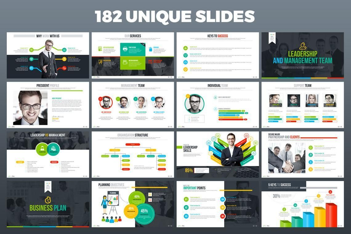 MaxPro Business Plan Keynote Template, Slide 3, 06817, Modelli di lavoro — PoweredTemplate.com