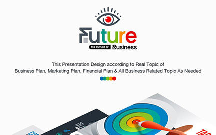Infographics: The Future Business Keynote Template #06819