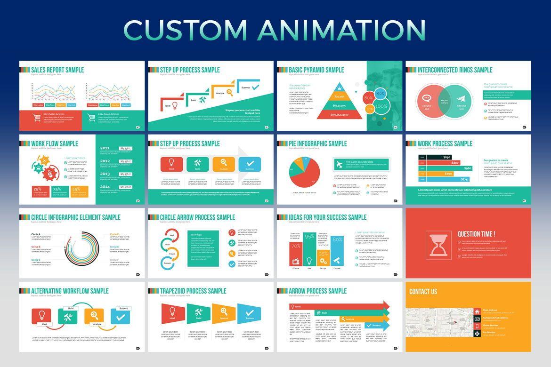 Regency PowerPoint Template, Slide 4, 06821, Infographics — PoweredTemplate.com