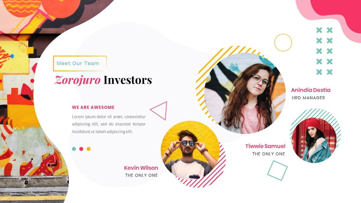 Zorojuro – Creative Business Pop Art Google Slides Template, Slide 10, 06822, Presentation Templates — PoweredTemplate.com
