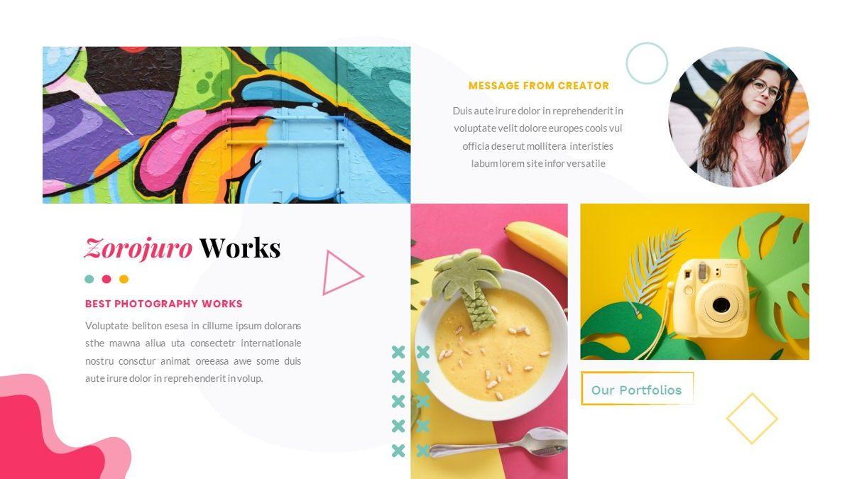 Zorojuro – Creative Business Pop Art Google Slides Template, Slide 25, 06822, Presentation Templates — PoweredTemplate.com