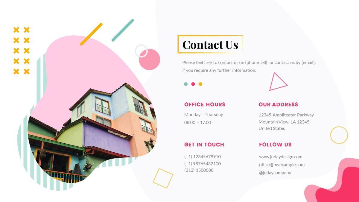 Zorojuro – Creative Business Pop Art Google Slides Template, Slide 39, 06822, Presentation Templates — PoweredTemplate.com