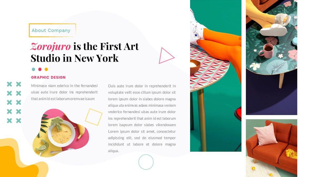 Zorojuro – Creative Business Pop Art Google Slides Template, Slide 7, 06822, Presentation Templates — PoweredTemplate.com