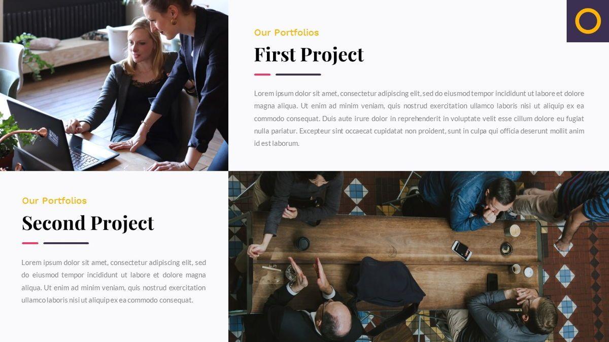 Justice – Creative Business PowerPoint Template, Slide 20, 06823, Presentation Templates — PoweredTemplate.com