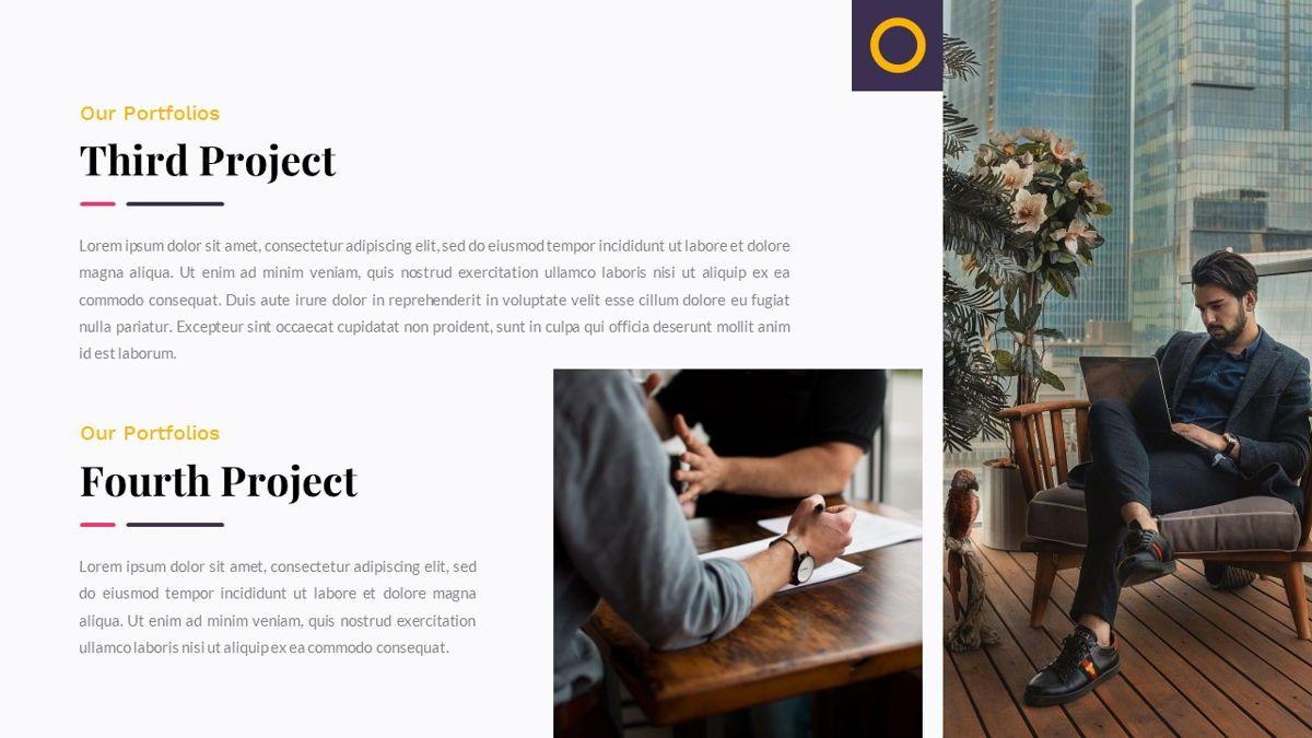 Justice – Creative Business PowerPoint Template, Slide 21, 06823, Presentation Templates — PoweredTemplate.com