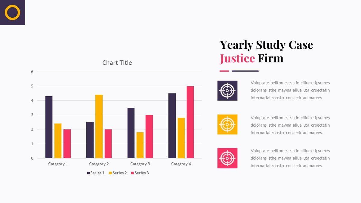 Justice – Creative Business PowerPoint Template, Slide 31, 06823, Presentation Templates — PoweredTemplate.com