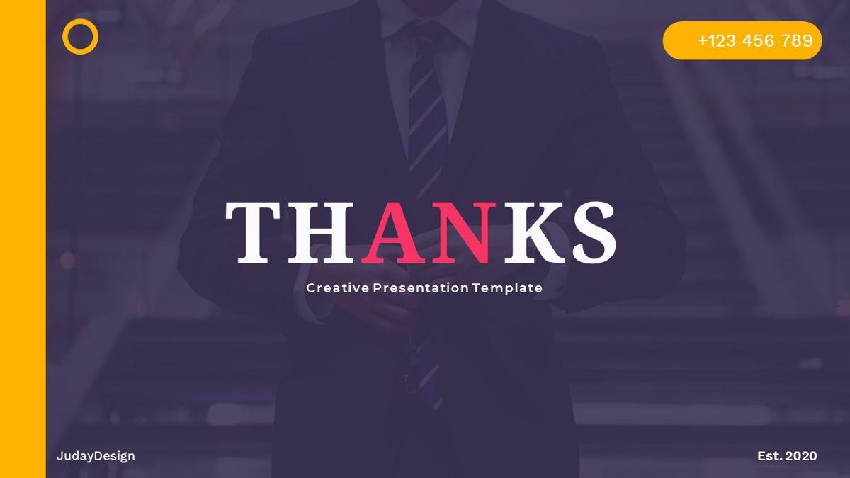 Justice – Creative Business PowerPoint Template, Slide 36, 06823, Presentation Templates — PoweredTemplate.com