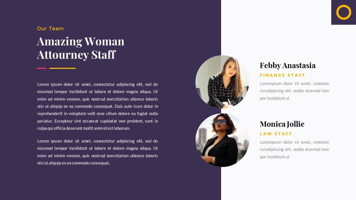 Justice – Creative Business PowerPoint Template, Slide 8, 06823, Presentation Templates — PoweredTemplate.com