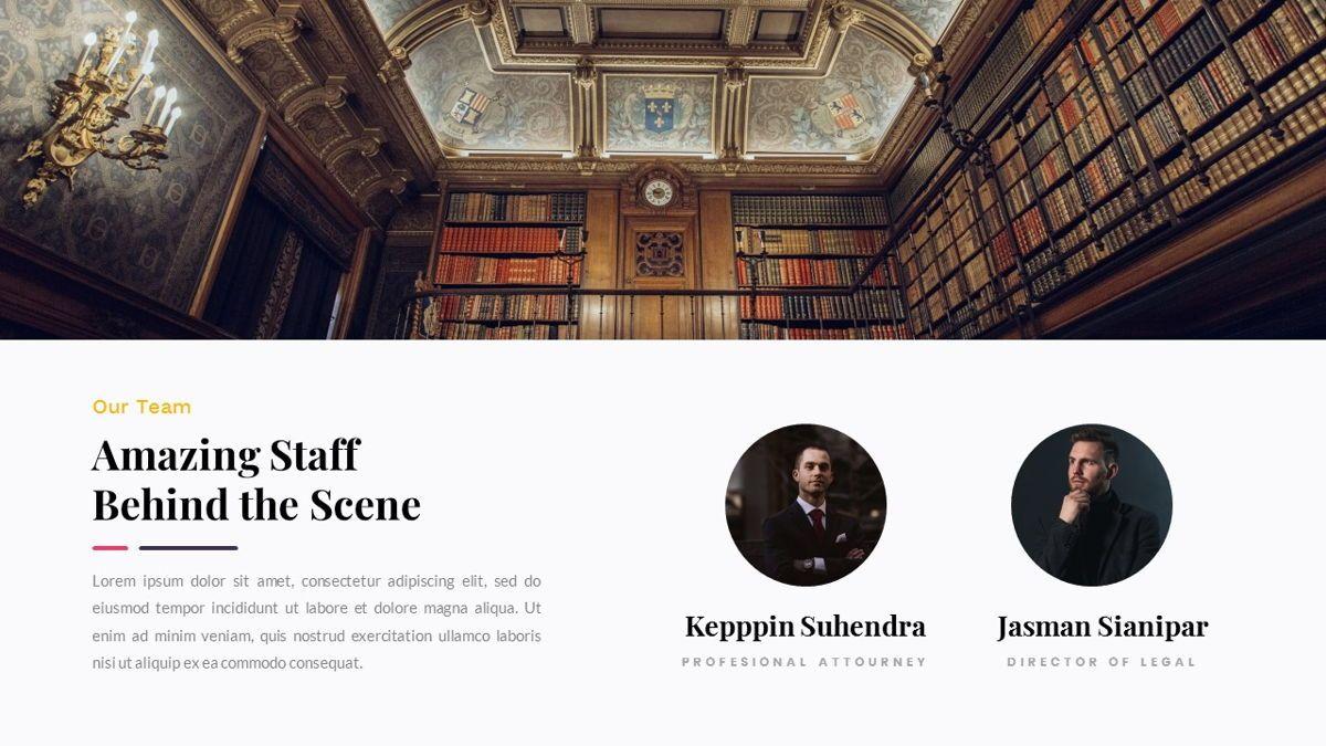 Justice – Creative Business PowerPoint Template, Slide 9, 06823, Presentation Templates — PoweredTemplate.com