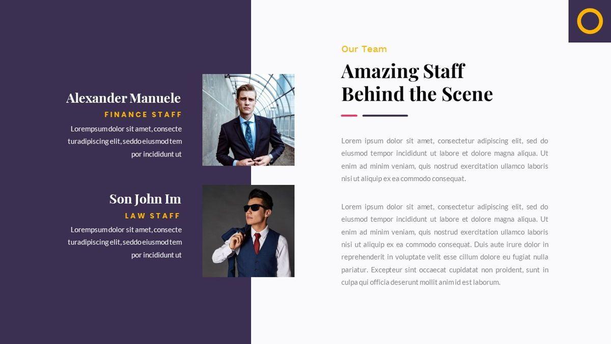 Justice – Creative Business Google Slides Template, Slide 10, 06824, Presentation Templates — PoweredTemplate.com
