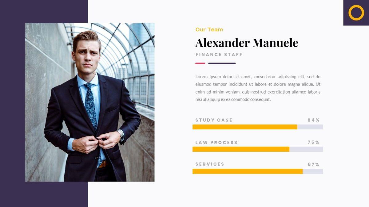 Justice – Creative Business Google Slides Template, Slide 11, 06824, Presentation Templates — PoweredTemplate.com