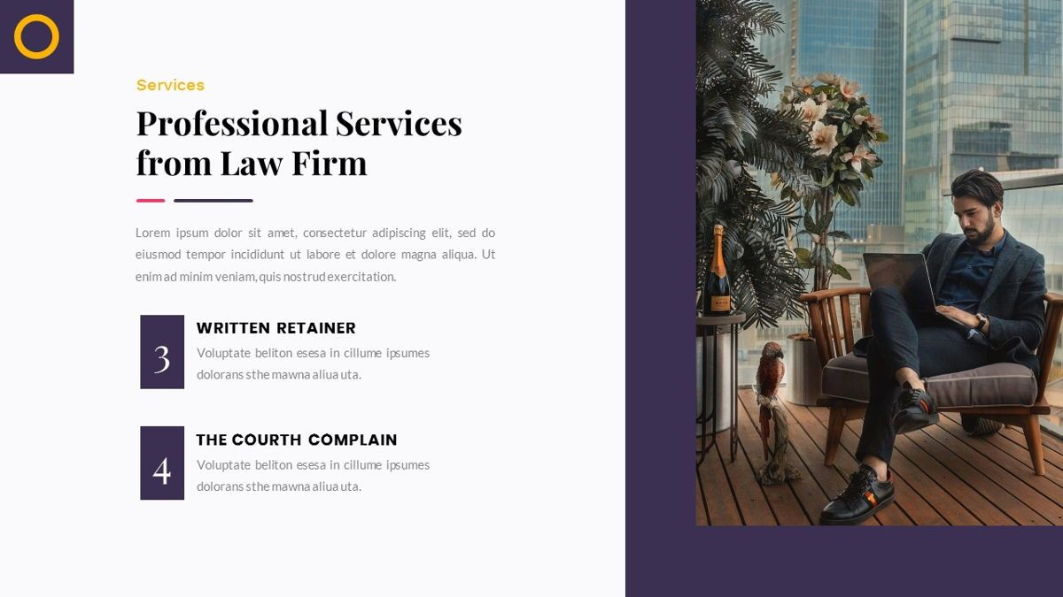 Justice – Creative Business Google Slides Template, Slide 14, 06824, Presentation Templates — PoweredTemplate.com