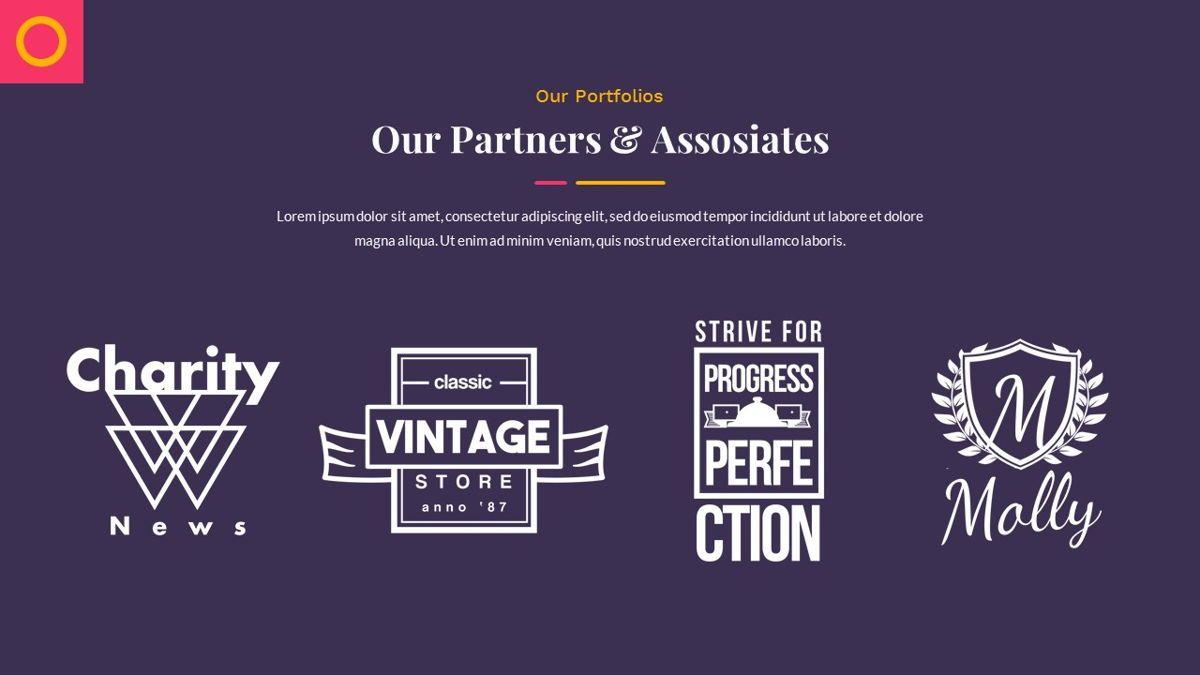 Justice – Creative Business Google Slides Template, Slide 19, 06824, Presentation Templates — PoweredTemplate.com
