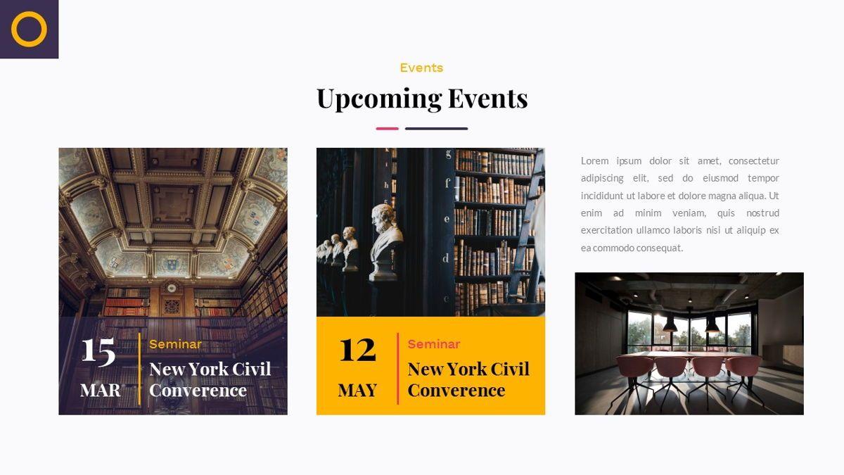 Justice – Creative Business Google Slides Template, Slide 22, 06824, Presentation Templates — PoweredTemplate.com