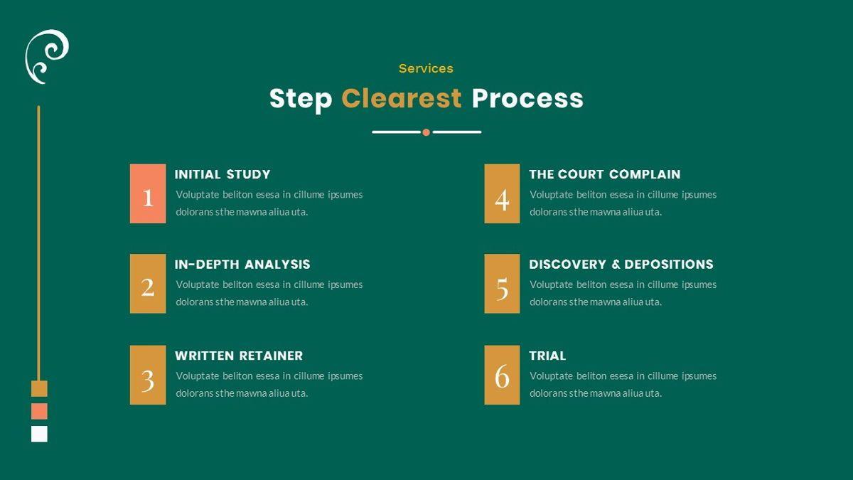 Clearest – Creative Business PowerPoint Template, Slide 12, 06825, Presentation Templates — PoweredTemplate.com