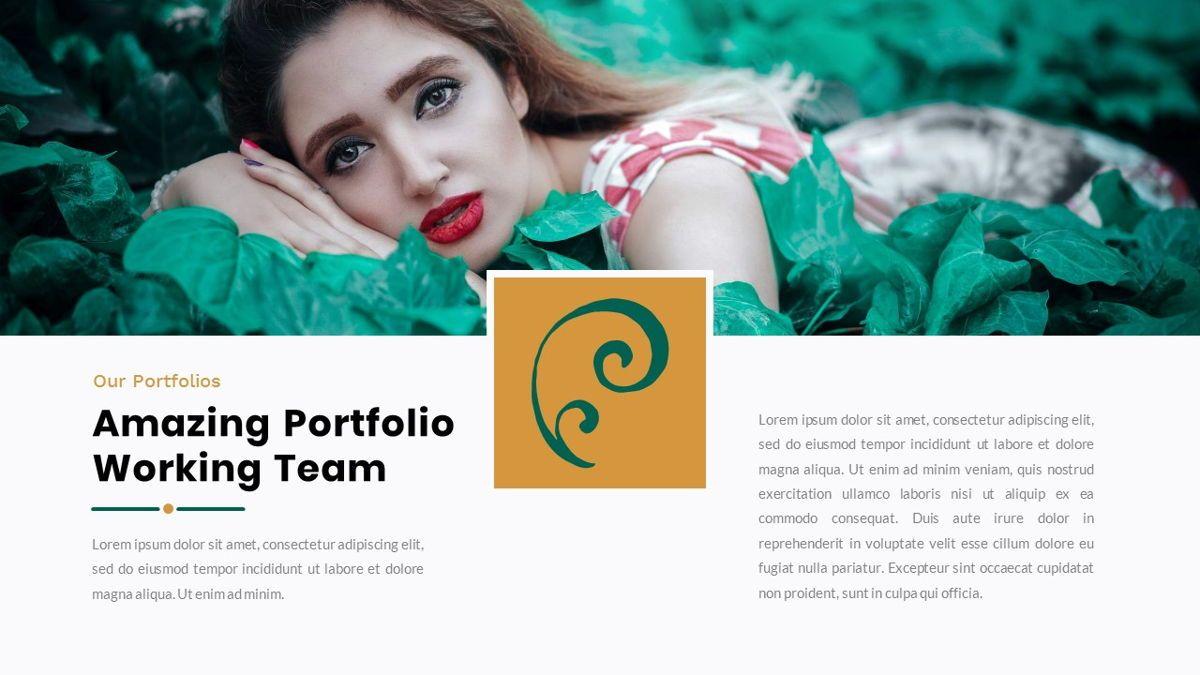 Clearest – Creative Business PowerPoint Template, Slide 18, 06825, Presentation Templates — PoweredTemplate.com